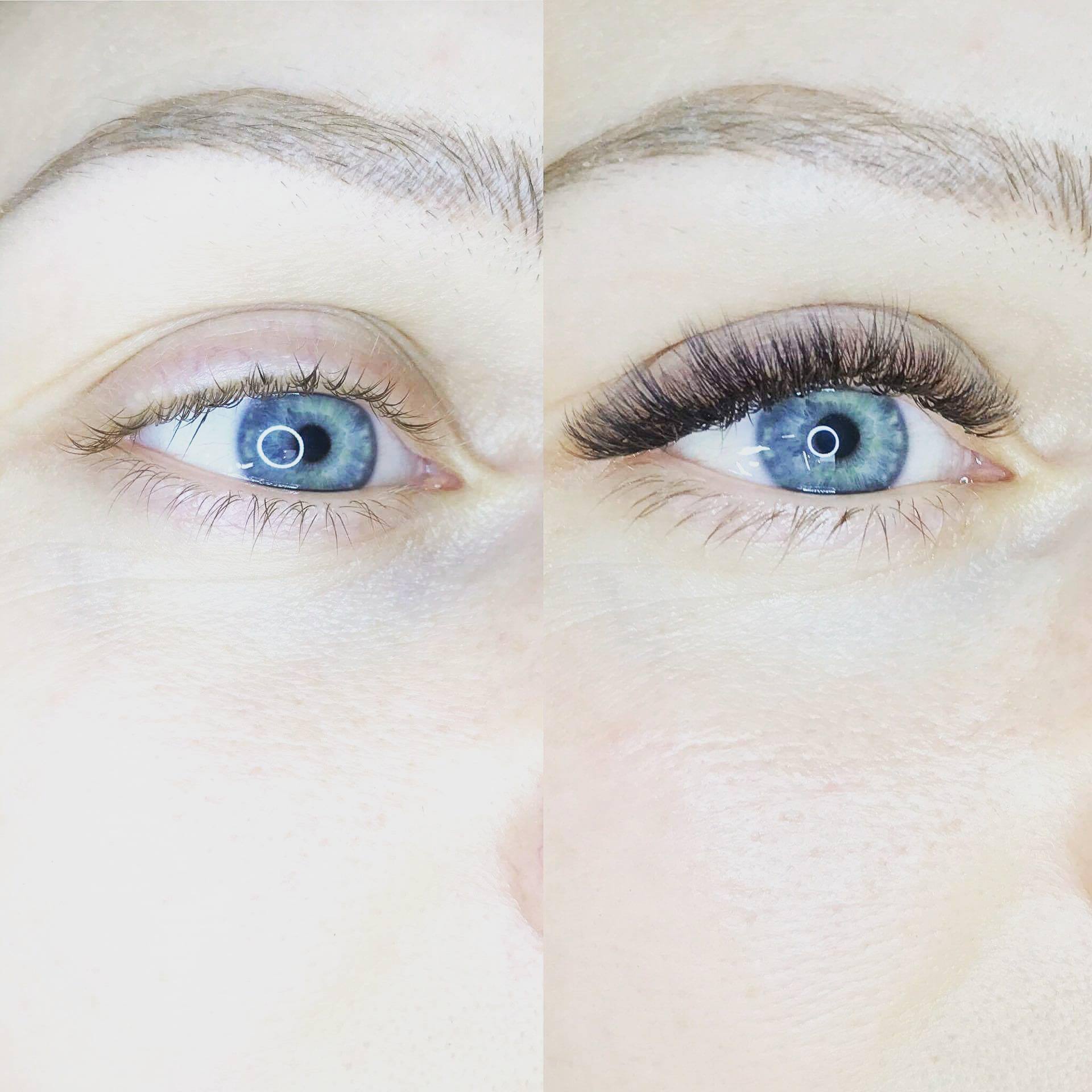 hur fort växer ögonfransar